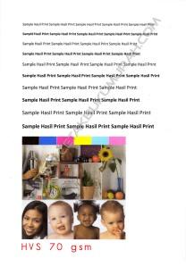 Sample Hasil Print hvs 70 gsm